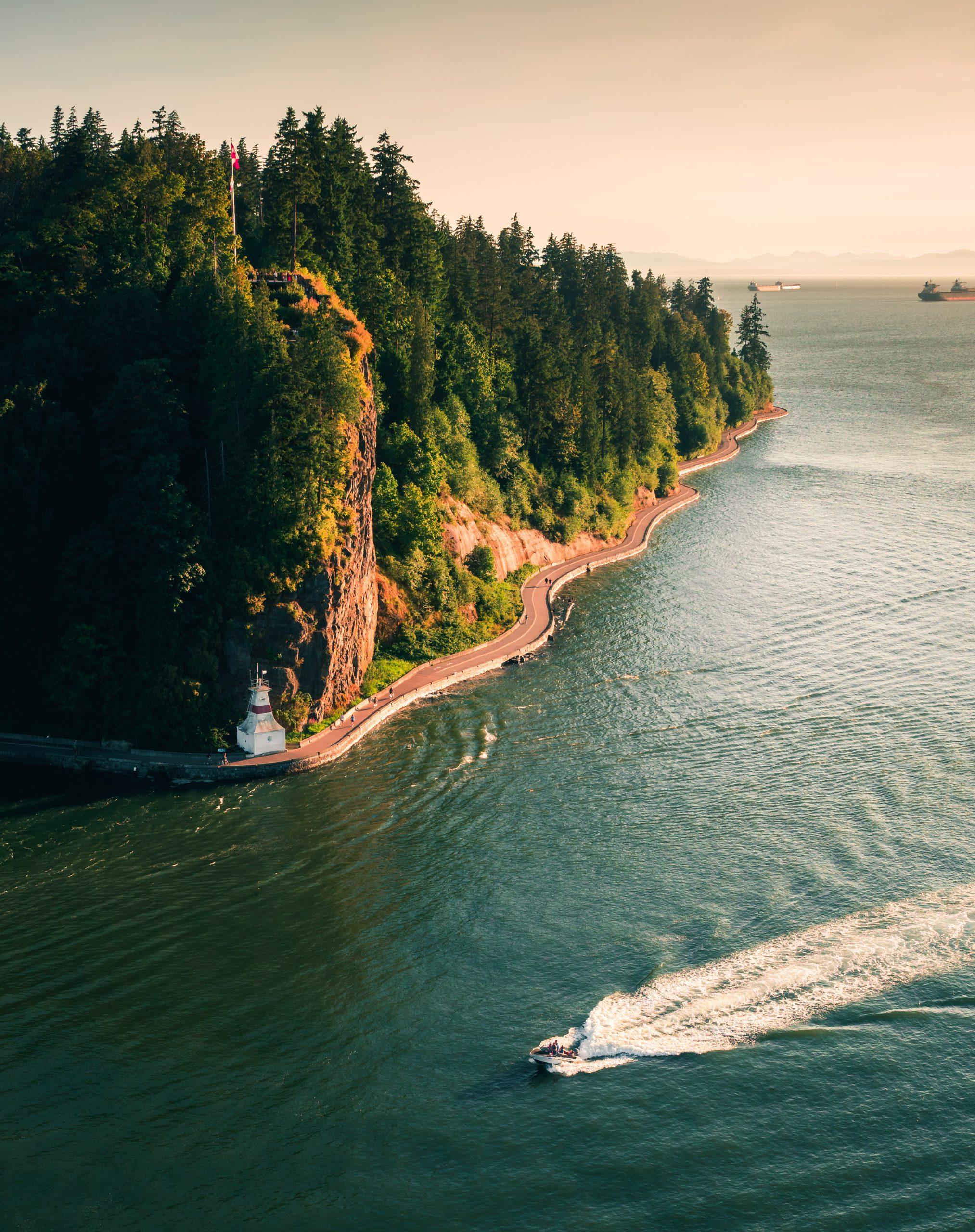 OMCOS 2021 - Vancouver aerial seawall